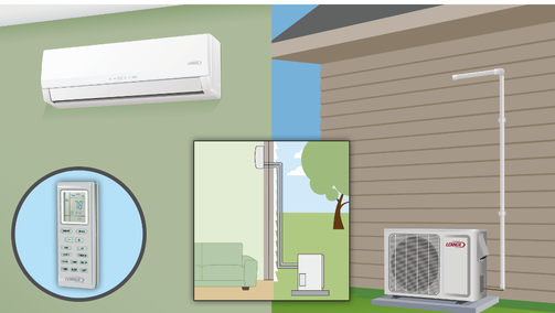 Boston's choice for ductless mini split installation